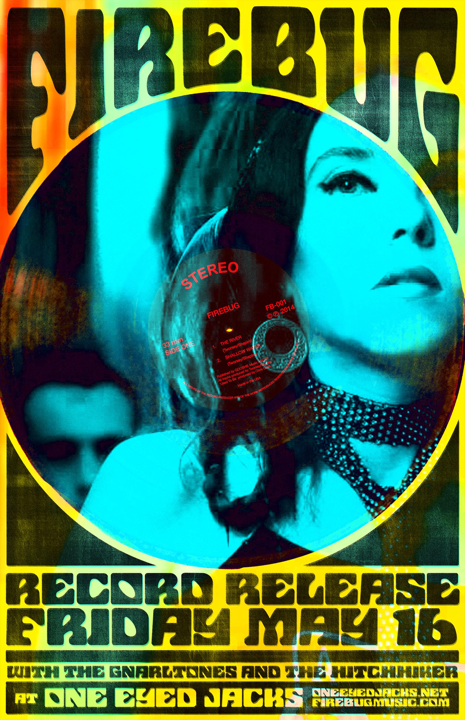 FireBug Record Release One Eyed Jack's New Orleans