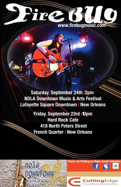 FireBug Live Downtown New Orleans